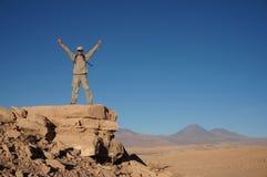 O Vale da Morte, deserto de Atacama, o Chile Fotografia de Stock Royalty Free