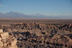 O Vale da Morte, deserto de Atacama, o Chile Imagens de Stock Royalty Free