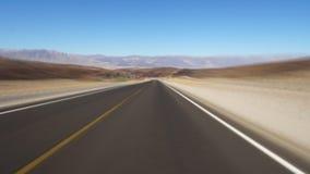O Vale da Morte, EUA video estoque