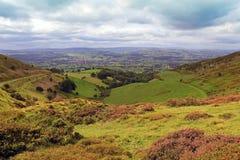 O vale de Clwyd, Wales 003 Foto de Stock