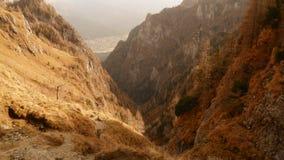 O vale de Jepii Mici Imagem de Stock