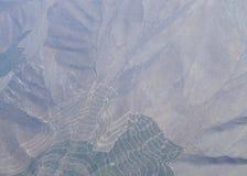 O vale de Maipo, Santiago de Chile, o Chile Fotos de Stock Royalty Free