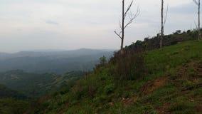 O vale de 1000 montes Foto de Stock Royalty Free