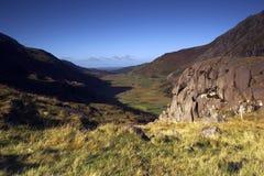 O vale de Ogwen Fotografia de Stock