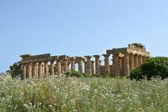 O vale dos templos de Agrigento - Itália 020 Fotografia de Stock Royalty Free