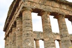 O vale dos templos de Selinunte - detalhe - Itália 12 Imagem de Stock