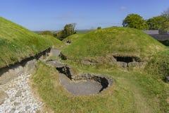 O vale histórico de Boyne - na Boinne de Bru fotografia de stock
