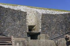 O vale histórico de Boyne - na Boinne de Bru fotografia de stock royalty free