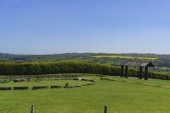 O vale histórico de Boyne - na Boinne de Bru fotos de stock