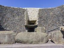 O vale histórico de Boyne - na Boinne de Bru foto de stock