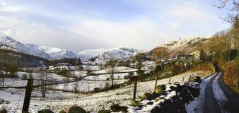 O vale pequeno de Langdale Imagens de Stock