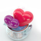 O Valentim dá Fotografia de Stock