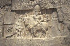 O Valerian romano do imperador submete-se Foto de Stock