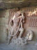 O varaha nas cavernas em Vidisha Imagem de Stock