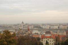 O Varhegy em Budapest imagens de stock