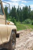 Fora-estrada nas montanhas fotos de stock royalty free