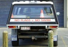 O veículo das salvas-vidas carregou & preparou-se para toda a emergência Imagem de Stock Royalty Free