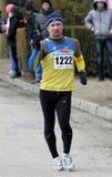 O vencedor de Kovenko Andriy dos 20.000 medidores compete Imagem de Stock