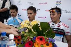 O vencedor do ciclo Malaysia 2011 de OCBC Fotos de Stock