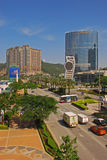 O Venetian e a cidade do casino de Macau dos sonhos com hotel da coroa Imagem de Stock