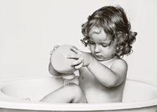 O ventilador de procedimentos da água. Imagens de Stock Royalty Free