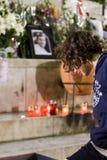 O ventilador francês morre depois que ataque dos hooligan Imagens de Stock