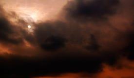 O vento. Foto de Stock