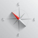 O vento do compasso levantou-se Fotos de Stock Royalty Free