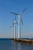 O vento tem a potência Fotografia de Stock