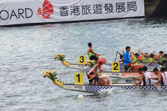o verão de Hong Kong Dragon Boat Carnival foto de stock royalty free