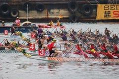 o verão de Hong Kong Dragon Boat Carnival fotografia de stock royalty free