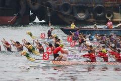 o verão de Hong Kong Dragon Boat Carnival imagens de stock royalty free