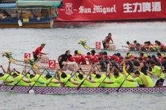 o verão de Hong Kong Dragon Boat Carnival fotos de stock
