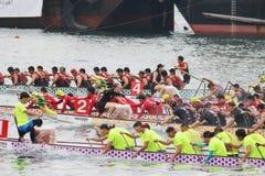 o verão de Hong Kong Dragon Boat Carnival imagem de stock royalty free