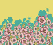 O verão floresce a composição Ilustração Royalty Free