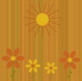 O verão floresce o fundo Ilustração Royalty Free