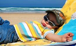 O verão relaxa foto de stock