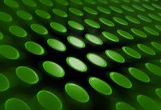 O verde abstrato abotoa o fundo ilustração do vetor