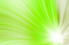 O verde abstrato curva o fundo Foto de Stock