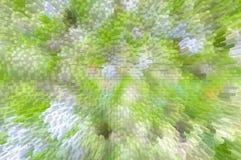 O verde branco obstrui o fundo abstrato Fotos de Stock
