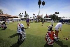 O verde de colocação na inspiração de ANA golf o competiam 2015 Imagens de Stock