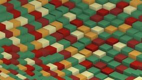 O verde de transforma o laço do cubo ilustração do vetor