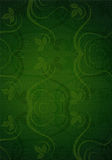 O verde deixa o fundo ilustração stock