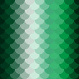 O verde escala o teste padrão Foto de Stock Royalty Free