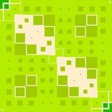 O verde obstrui a textura dos quadrados ilustração royalty free