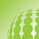 O verde pontilha o fundo ecológico Foto de Stock