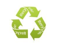 Recicl o ícone Fotografia de Stock