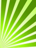O verde retro listra o fundo Imagens de Stock