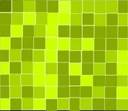 O verde telha o fundo Ilustração do Vetor