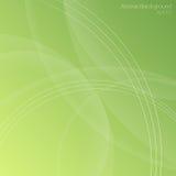 O verde tonifica o fundo abstrato Imagens de Stock Royalty Free